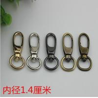 Wholesale SP080 Custom zinc alloy 5 color 14 mm swivel spring snap clip bag strap hook for bags from china suppliers