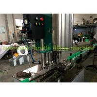 Wholesale Customized Filling Nozzles Split Automatic Beverage Can Filling Machine With Washing , Filling And Capping from china suppliers