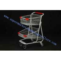 Wholesale Unfoldable Trendy Shopping Carts  On Wheels With Canada 70L from china suppliers