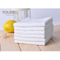 Wholesale White Cotton Washcloths 100% Long Stapled Luxury Face Flannels from china suppliers