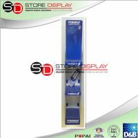 Wholesale Blue Recyclable Corrugated Pop Displays With 3 Stages For Advertising / Displaying from china suppliers