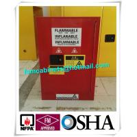 Wholesale Durable Paint Storage Cabinets With Double Decked Fire Resistant Steel Plate Structure from china suppliers
