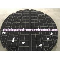 Wholesale ROUND/SQUARE/CUSTOMIZE Titanium Wire Mesh Demister Pad Mist Eliminator For Anti - Corrosion from china suppliers