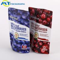 China Mixed Nuts Packaging Resealable Ziplock Bags Fresh Keeping For Dyr Fruit for sale