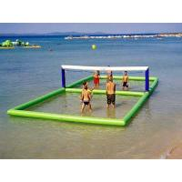 Wholesale Outdoor Inflatable Beach Games / Inflatable Water Volleyball Court For Seaside from china suppliers