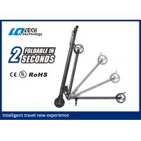 China Easy Operation Electric Folding Scooter Max Load 90kg , Full Angle Turning Angle on sale