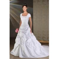 Wholesale SUMPTUOUS SUMPTUOUS FORMAL WEDDING DRESS WITH SHORT SLEEVES from china suppliers