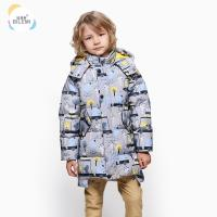 Wholesale Korean Style Outerwear Boutique Insulated Winter Down Coat Best Heavy Half Jacket For Boys for sale