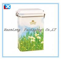 Wholesale Rectangle Tea Tin Box/XL-1097 from china suppliers