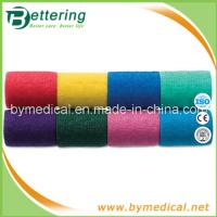 Wholesale 7.5cm Hand tearing Non Woven self adhering elastic bandage from china suppliers