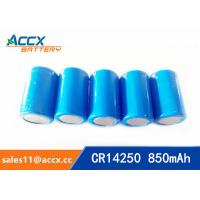 Wholesale lithium battery cr14250 1/2aa 3.0v 850mAh from china suppliers