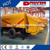 Wholesale 60m3 80m3/H Large Trailer Concrete Pump with Elctric or Diesel Power Manufacturer from china suppliers