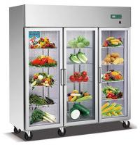 China 1600L Commercial Fridge Freezer , Kitchen Appliances Refrigerators With Adjustable Feet on sale