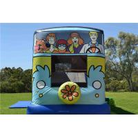 Wholesale Scooby - Doo Mystery Machine Backyard Kids Jumping Castle / Blow Up Bounce Houses from china suppliers