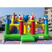 China commercial grade backyard gaint inflatable dry slide for kids fun for sale