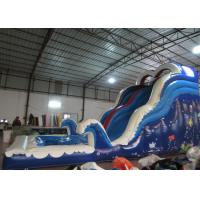 Amusement Park Commercial Inflatable Water Slides Arch 8 X 3.5 X 5m For Kindergarten Baby for sale