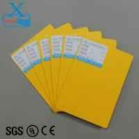 China 3mm yellow foam board color pvc sheet wholesale flexible and waterproof color cardboard sheet pvc plastic cardboard shee on sale