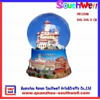 China resin water globes on sale