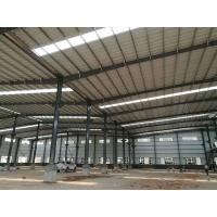 China New Easy Assemble Cheap Light Weight Prefabricated Steel Structure Warehouse on sale