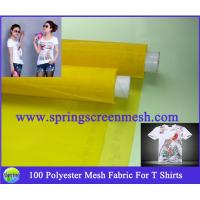 yellow screen printing mesh for sale