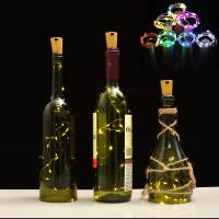 China 2m 6.6FT Battery Wine Bottle Led Lights  Night Light Ropes And Strings on sale