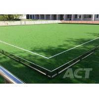 Fifa Thick Soft  Artificial Football Turf Rugby Field Synthetic Lawn Anti Color Fading