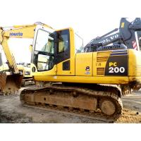 Wholesale USED KOMATSU PC200-8 CRAWLER EXCAVATOR FOR SALE MADE IN JAPAN from china suppliers