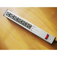 Wholesale Metal 6 Outlet Surge Protector Power Strip , Mountable Multiple Plug Socket from china suppliers
