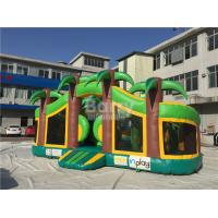 Wholesale Theme Park Inflatable Toddler Playground , Inflatable Bouncy Castle from china suppliers