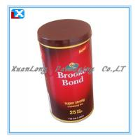 Wholesale metal coffee tin box from china suppliers