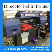 China 4 Plates Direct To Garment Printing Machine For Cotton Workout Apparel on sale