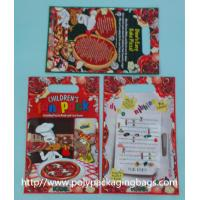 Wholesale Red Plastic Toy Packaging Poly Bags / Custom Printed 3 Side Seal Bag from china suppliers