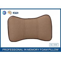 Wholesale Washable Travel Memory Foam Car Neck Pillow / Car Seat Neck Rest Pillow from china suppliers
