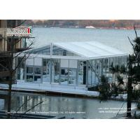 Wholesale 10x15m Luxury Wedding Tents With Transparent Roof Cover And Glass Wall For 100 People Capacity Wedding Party from china suppliers