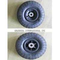 China Plastic Rim Pneumatic Rubber Wheel (PR1800-1(10*3.50-4)TYRE TIRE TUBE on sale