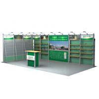 Quality Exhibition Aluminum Booth Design , 3 × 6m Tradeshow Booth Displays for sale