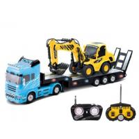 Wholesale Construction Play Set with Flat Car and Excavator from china suppliers