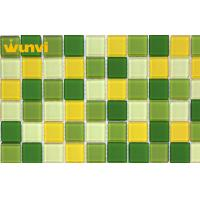 Wholesale Water - Proof Iridescent Glass Mosaic Tile , Outdoor Mosaic Floor Tiles from china suppliers