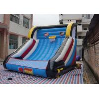 Wholesale Funny Inflatable Kids Games , Inflatable Interactive Sports Game Basketball Set from china suppliers