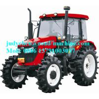 Wholesale YTO-LF1004-C/LF1104-C Four Wheel Farm Tractor 81KW Engine Power , Operating Weight 4250kgs from china suppliers