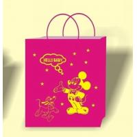 Wholesale Pink color bag printing, bag printing house, bulk paper bags, wholesale bag supplier, bag seller from china suppliers