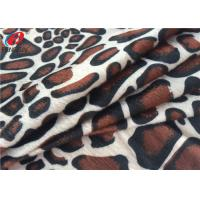 Wholesale Animal Printed Polyester Velvet Brushed Fabric Knitted Velboa Fabric For Toy from china suppliers