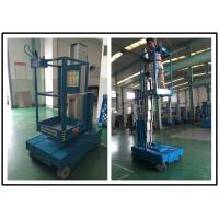 Wholesale Single Person Aerial Vertical Mast Lift Reliable GTWZ3-1003 For Supermarket from china suppliers