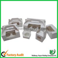 Wholesale Paper cupcake box with handle from china suppliers