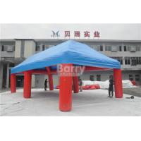 Wholesale Outdoor Big Event Advertising Inflatable Tent , Red And Blue Portable Air-Saeled Tent from china suppliers