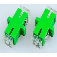 Buy cheap Optical Fiber SM Simplex SC-APC Couplers With Crystal Anti-dust Cover Singlemode from wholesalers