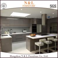 N&L Australian 2 pac high gloss project flat pack kitchen cabinet with free design,modern kitchen cabinet