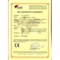 CHAMPION SPORTS CO., LIMITED Certifications