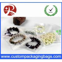 China Transparent Clear EVA PVC Resealable Custom Gift Bags Jewelry Packing Waterproof on sale