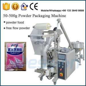 China ice cream toppings powder packing machine / ice cream powder packaging machine on sale
